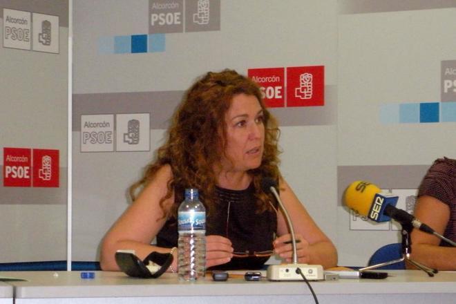 La Alcaldesa de Alcorcón Natalia de Andres.