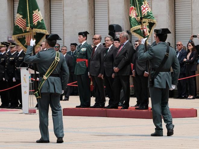 Actos por el 173 aniversario de la Guardia Civil en Sant Andreu de la Barca en 2017