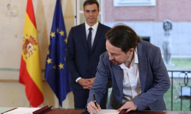 Gobierno y Podemos pactan subir el salario mínimo a 900 euros