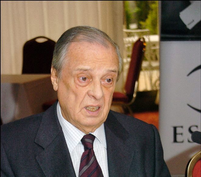 El ex jefe de la Casa Real, Sabino Fernández Campo.