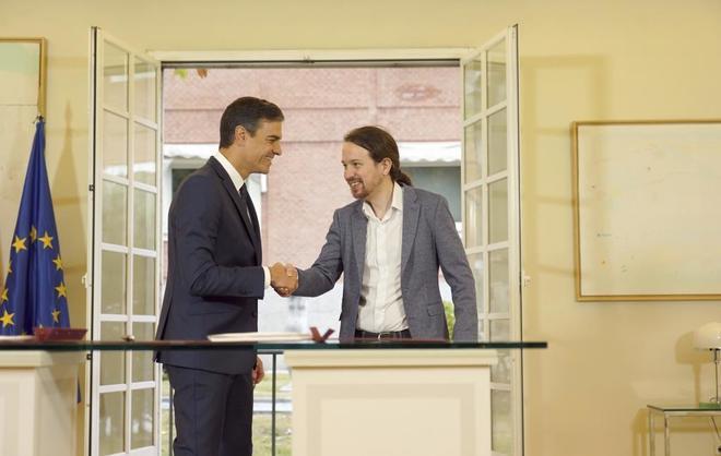 Pedro Sánchez y Pablo Iglesias acuerdan cambios en el Código Penal