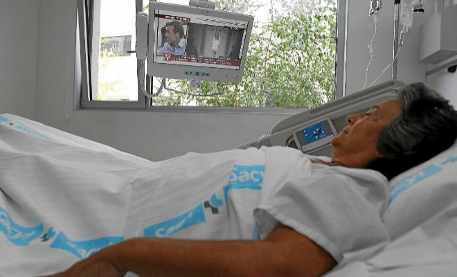 Sanidad anuncia que el servicio de televisión será gratuito en todos los hospitales en 2019
