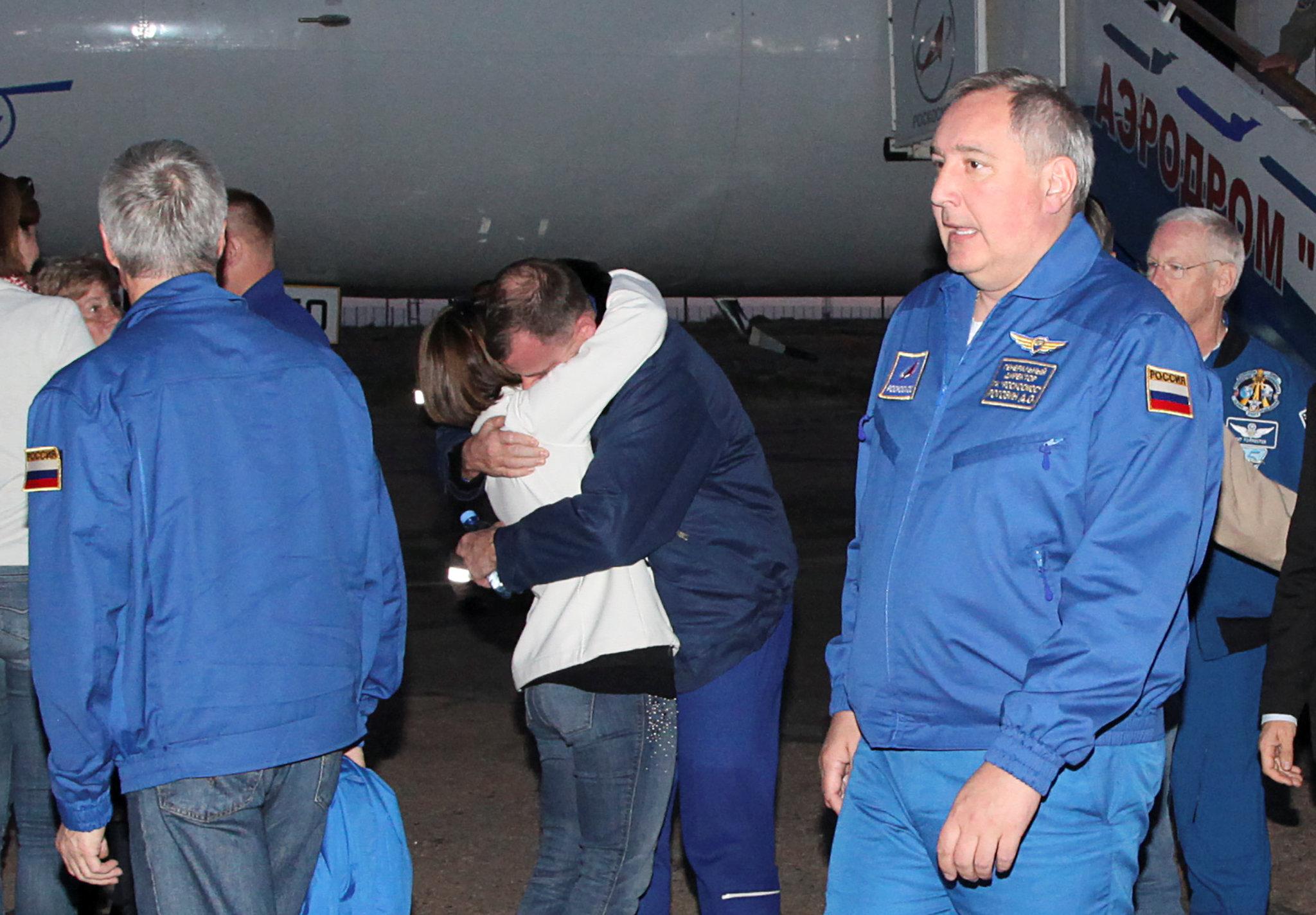 """El """"aterrador descenso balístico"""" en Soyuz con dos astronautas"""