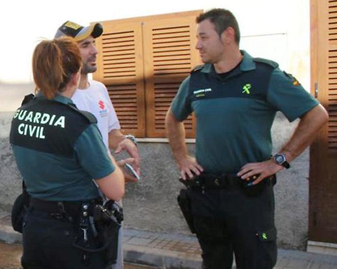 Los guardias que salvaron a una familia: