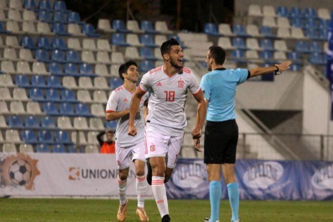 Sub-21: Rafa Mir derriba el muro albanés en el 84
