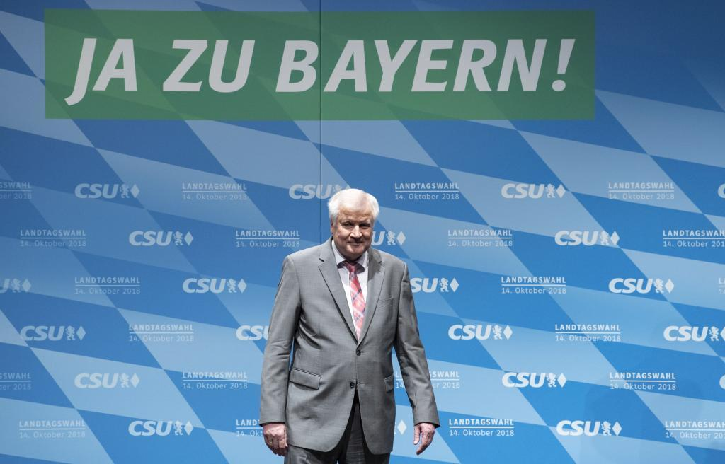 La CSU cierra su campaña electoral en Baviera sin el apoyo de Angela Merkel