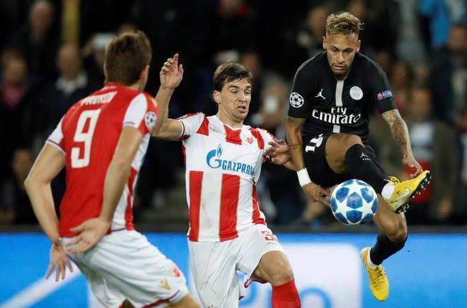 Francia investiga el posible amaño del PSG - Estrella Roja de la Champions