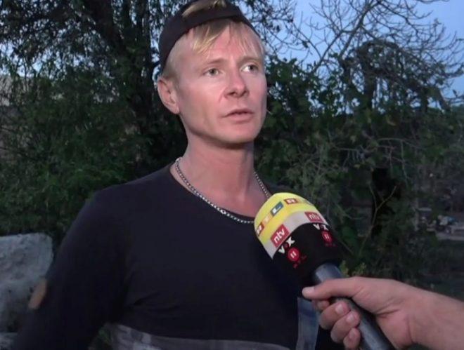 """El ciclista alemán que salvó a la niña: """"Estaba aterrorizada y no quería soltarse"""""""