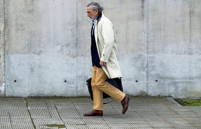 El cabecilla de la 'trama Gürtel', Francisco Correa, se dirige a la...