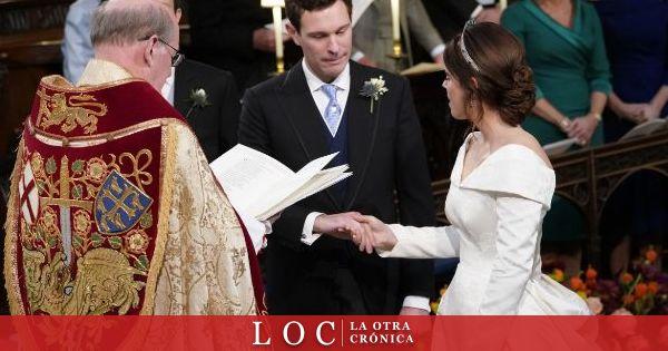 """Así ha sido el """"sí, quiero"""" de la princesa Eugenia de York, ante más de 800 invitados"""