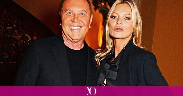 Kate Moss y Michael Kors juntos de fiesta para celebrar la colaboración con David Downton