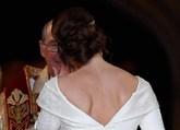 Eugenia pidió expresamente a los diseñadores del vestido Peter...
