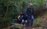 El president Quim Torra, fotografiado este sábado en el monte.