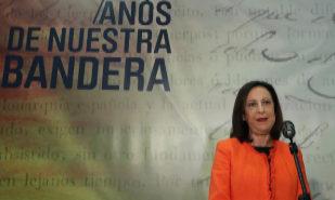 Margarita Robles, en la inauguración de la exposición '175 años de...