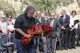 Joan Tardà. portavoz de ERC en el Congreso, en un acto de homenaje a...