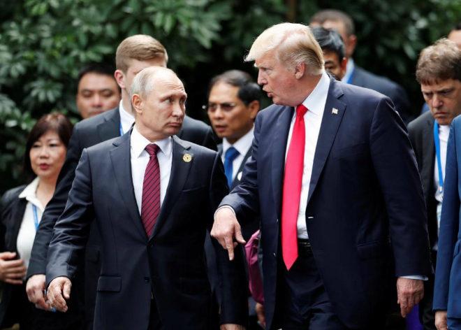 Trump dice que Putin
