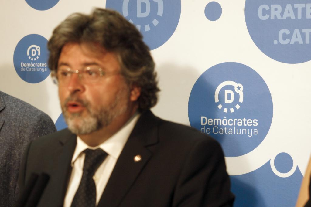 Antoni Castellà, lider de Demòcrates de Catalunya