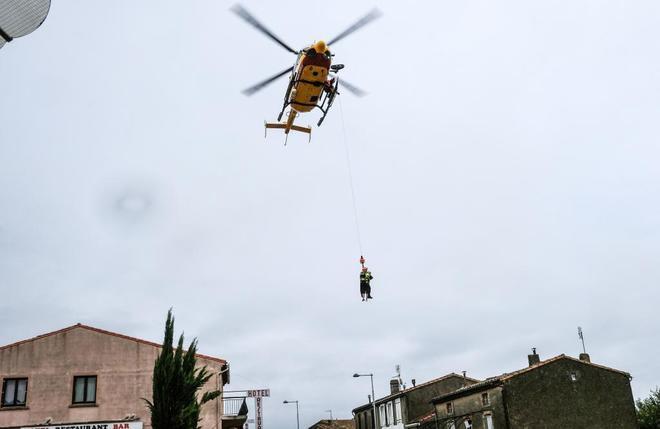 Seis muertos en Francia por la tormenta Leslie
