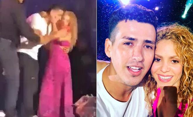 El tenso momento de Shakira con su equipo de seguridad por defender a un fan