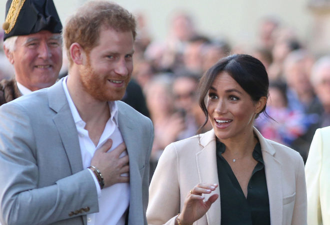 Harry y Meghan.