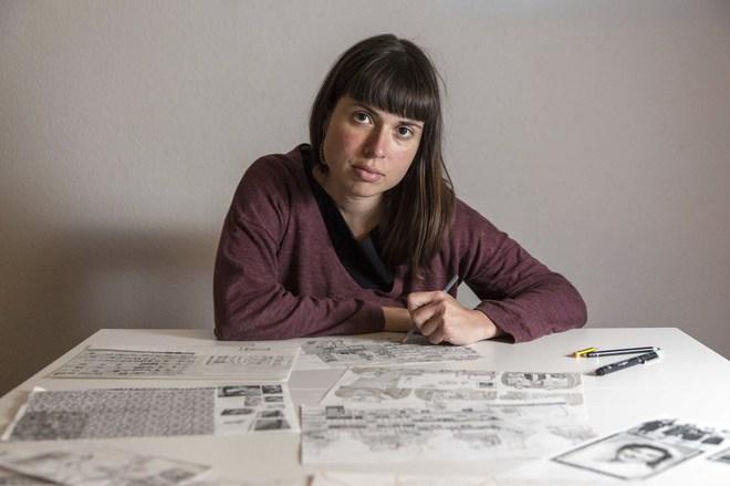 La ilustradora Ana Penyas (Valencia, 1987).