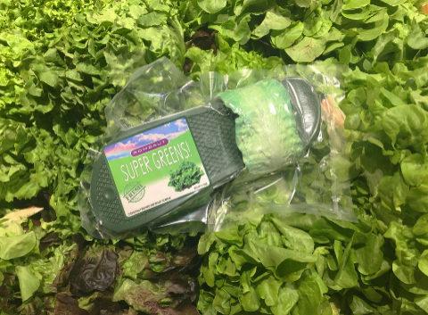 Se llaman Super Greens y son... súper verdes, como una lechuga.