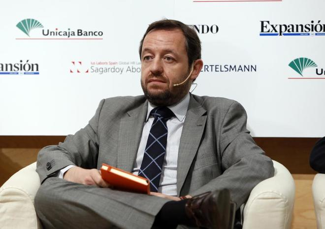 El diputado de Ciudadanos, Francisco de la Torre, en un foro...