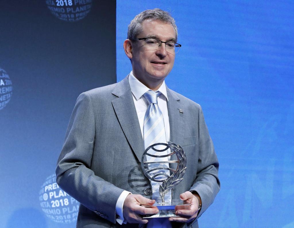 """El escritor valenciano Santiago Posteguillo ha ganado el 67 Premio Planeta, con la novela histórica """"Yo, Julia"""" en el Palau de Congresos de Barcelona."""