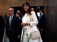 El ministro de Cultura, José Guirao, y la consellera de Cultura, Laura Borràs.