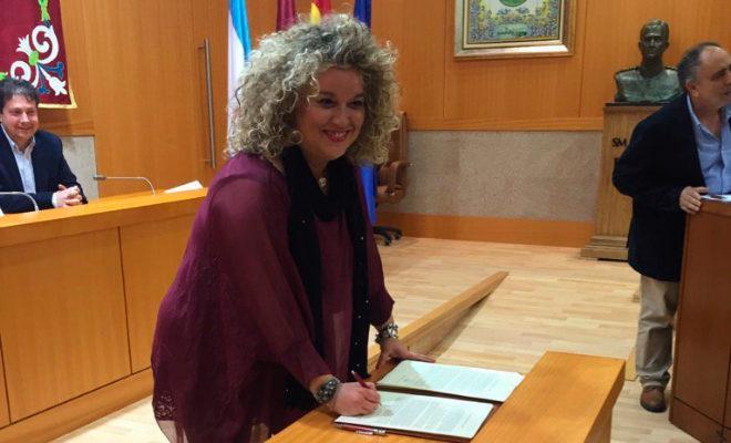 La alcaldesa de Aranjuez, Cristina Moreno.