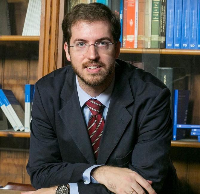 El profesor Luis Ignacio Gordillo, nuevo portavoz de Ciudadanos en Euskadi.