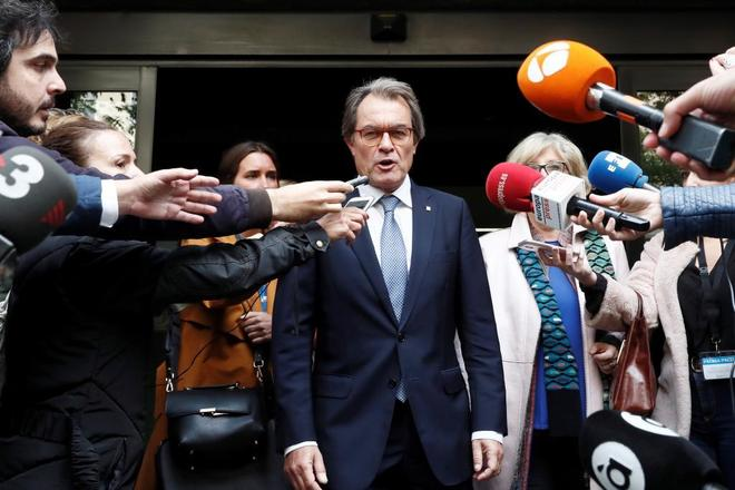 El ex presidente de la Generalitat Artur Mas.