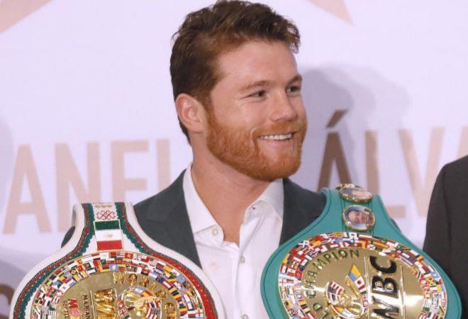 El boxeador 'Canelo' Álvarez, campeón de peso mediano del Consejo Mundial de Boxeo.
