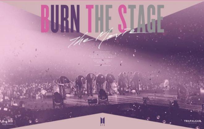 Imagen de Burn The Stage, la película de BTS