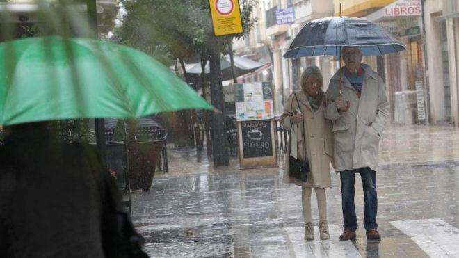 Así es la gota fría que llega hoy: fuertes lluvias y tormentas en toda España al unirse dos borrascas 15398604309915