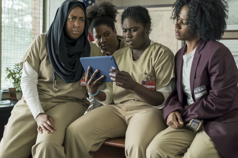 Actrices de la serie 'Orange Is the New Black', que terminará en 2019