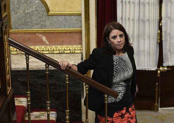 Adriana Lastra, vicesecretaria general del PSOE, en el Congreso de los...