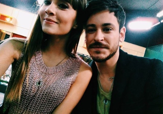 Aitana y Cepeda, cuando aún eran solo amigos, en la Academia de...