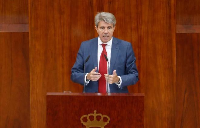 El presidente de la Comunidad, Ángel Garrido.