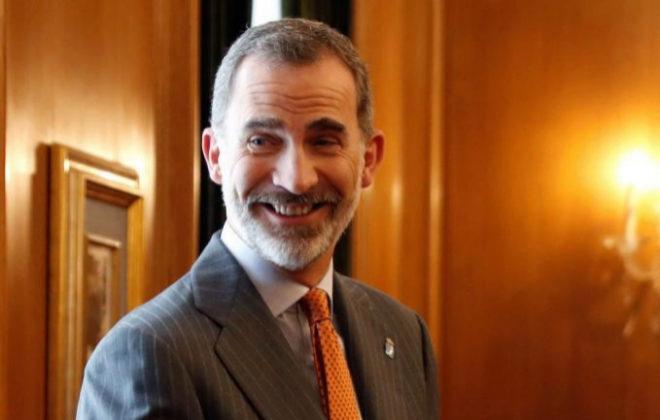 El Rey Felipe VI, a su llegada a Asturias para los Premios Princesa de...