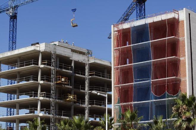 Pisos en venta de nueva construcción en la zona del Fórum de Barcelona.