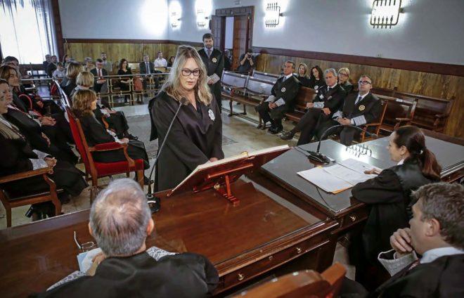 Acto de incorporación de seis nuevos jueces para apoyar a los juzgados de las cláusulas suelo.