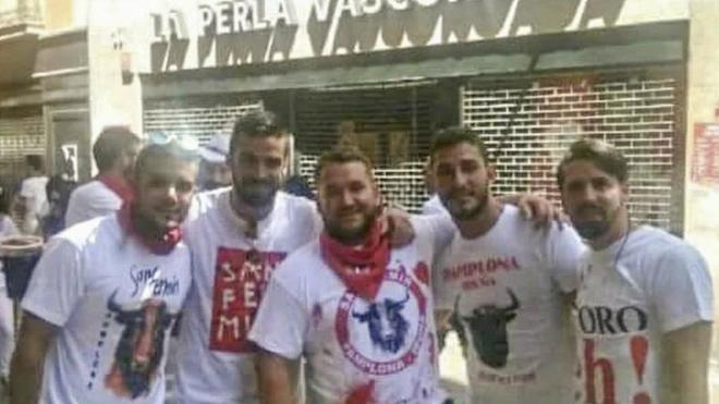 Ángel Boza, Antonio Manuel Guerrero Escudero, José Ángel Prenda, Alfonso Cabezuelo,  y Jesús Escudero.