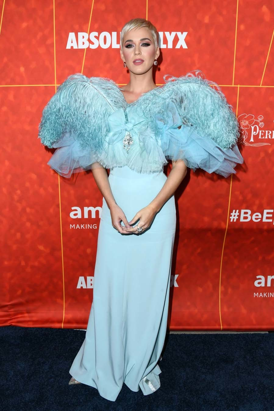 Katy Perry en la gala amfAR en Los Angeles