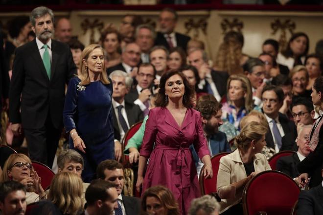 El Gobierno de Pedro Sánchez, abucheado a su llegada a los Premios Princesa de Asturias