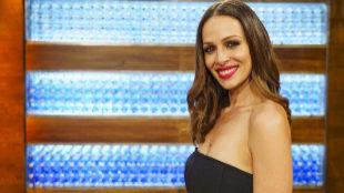 Eva González, la presentadora de la nueva etapa del programa 'La voz'...