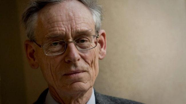 El historiador británico John H. Elliot, durante una entrevista.
