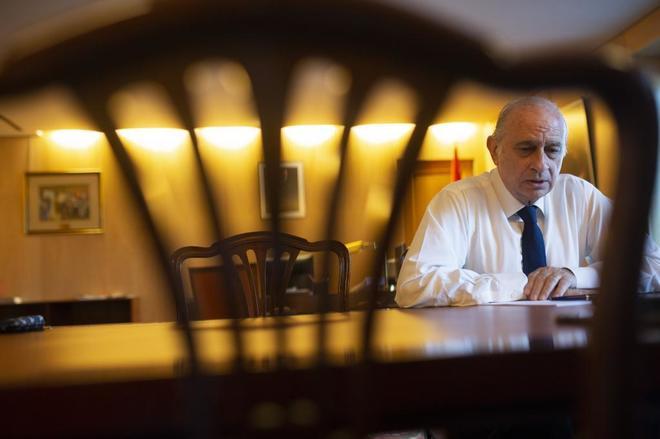El ex ministro del Interior en la primera legislatura de Mariano Rajoy, Jorge Fernández Díaz