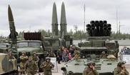 Exhibición militar en Rusia en el Día de los Tanques el pasado...