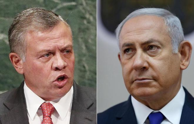 Jordan Annuls Two Annexes Of The Peace Agreement Of 94 And Will Stop